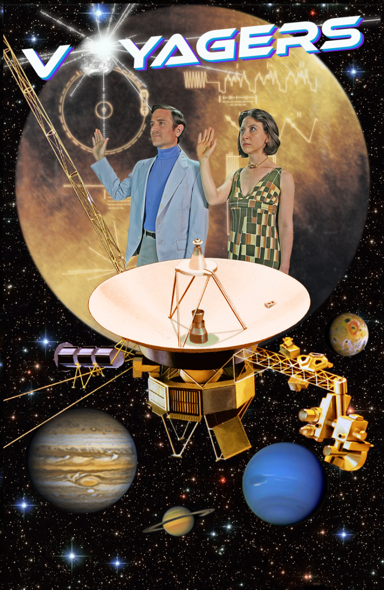 Poster for the Voyagers musical