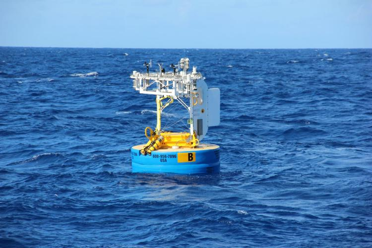 WHOTS buoy off the coast of Hawaii