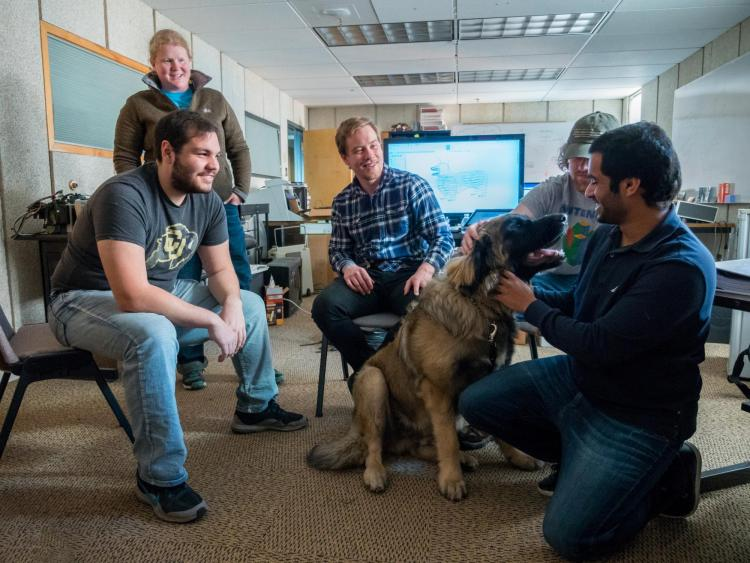 Students in Focus: Autonomous companion dog for people with