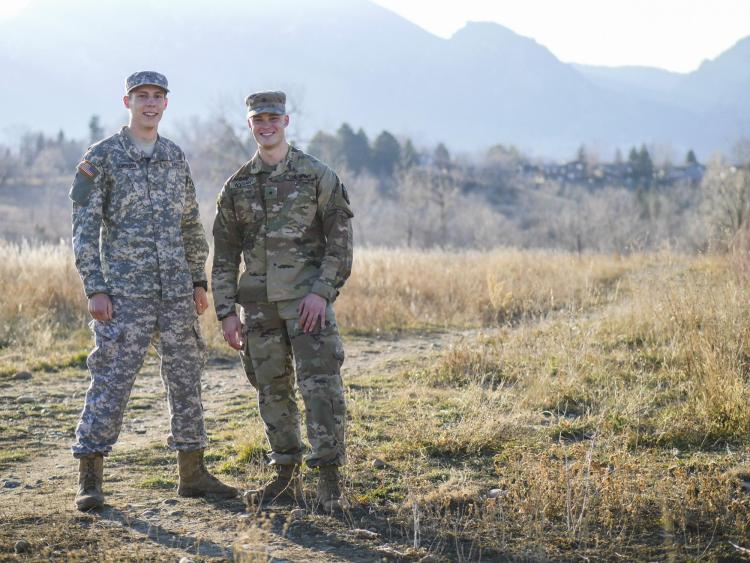 2c05eb2129c Pushing Boundaries  ROTC cadets become  Army Strong  with help from mentors