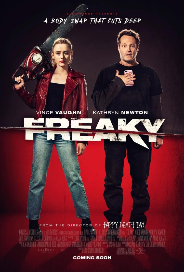 Freaky film poster