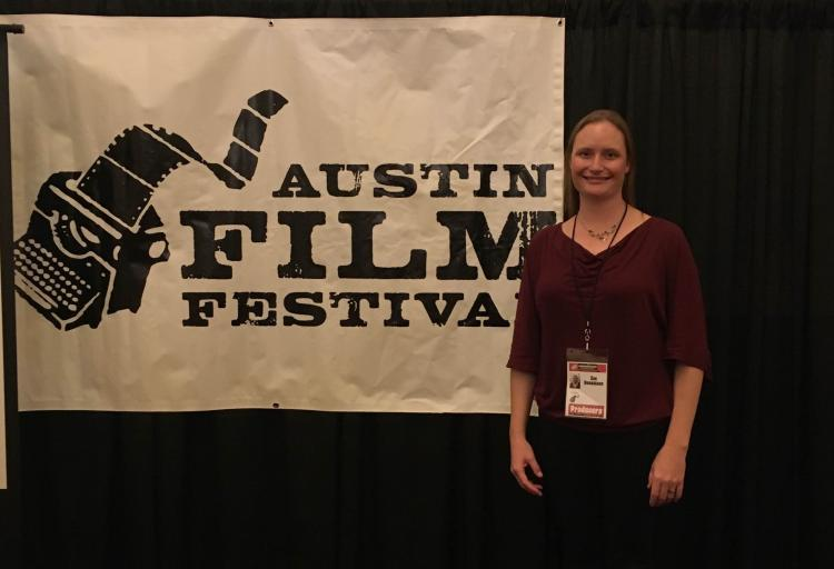zoe donaldson at the austin flim festival