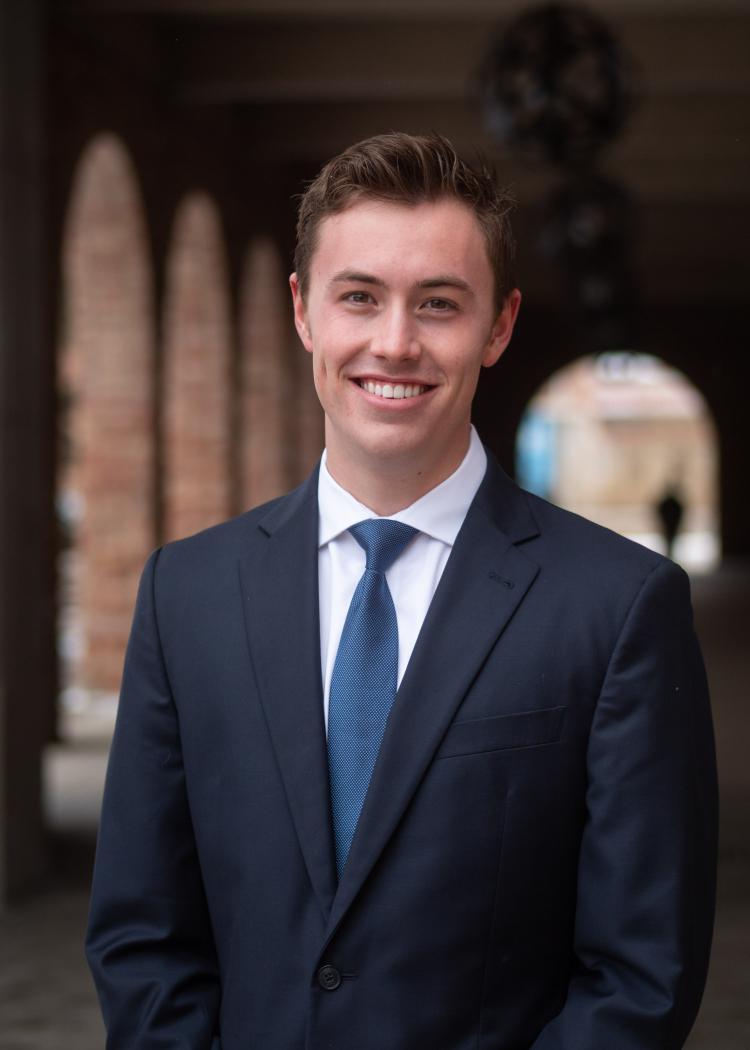 Jake Reagan, 2020 CU Boulder Rhodes Scholar