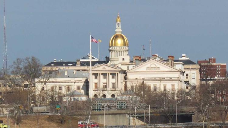 Trenton capitol building