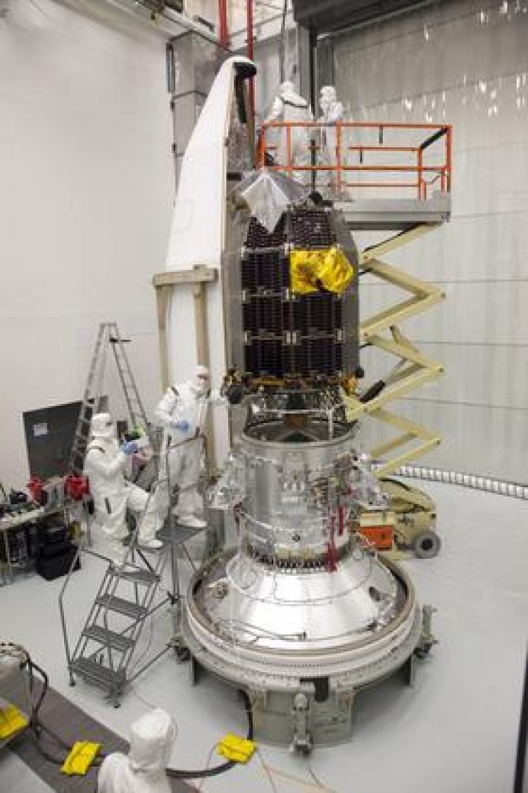 LADEE spacecraft