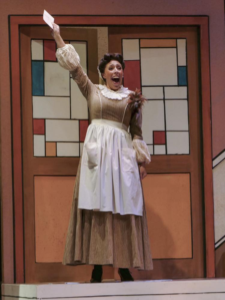 Nadya Hill plays Adele in Die Fledermaus