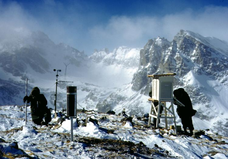 Tracking high-elevation snowfall at NSF's Niwot Ridge LTER site in Colorado