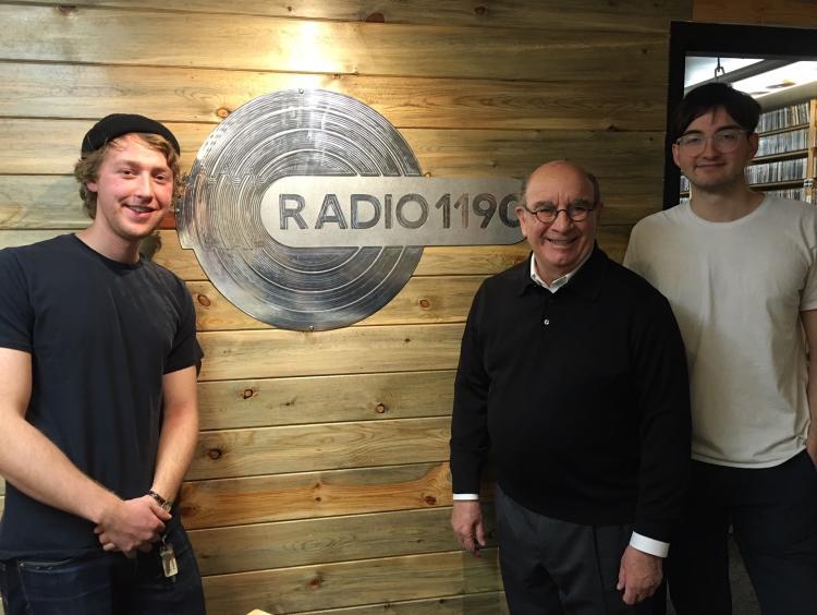 Ethan Cohen, Philip DiStefano and Donato Ruscitti