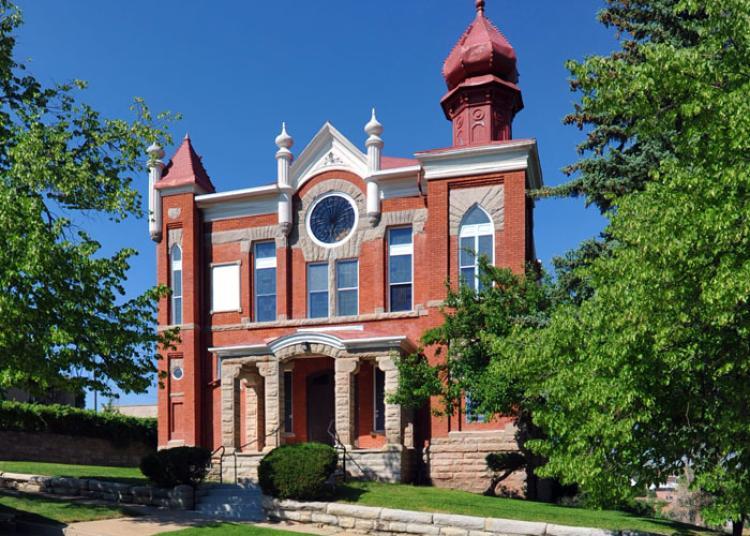 Temple Aaron synagogue, located in Trinidad, Colorado.