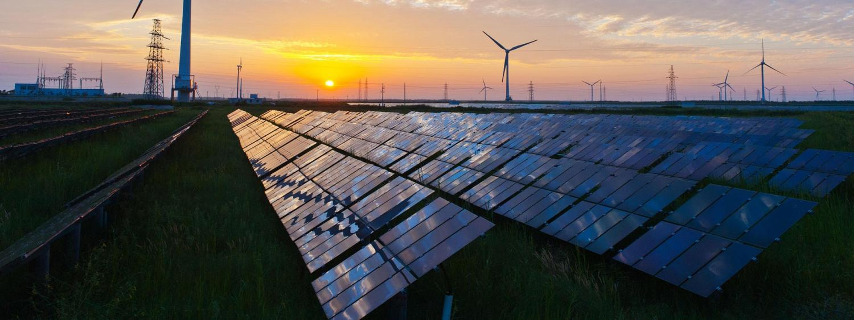 Solar grid panels