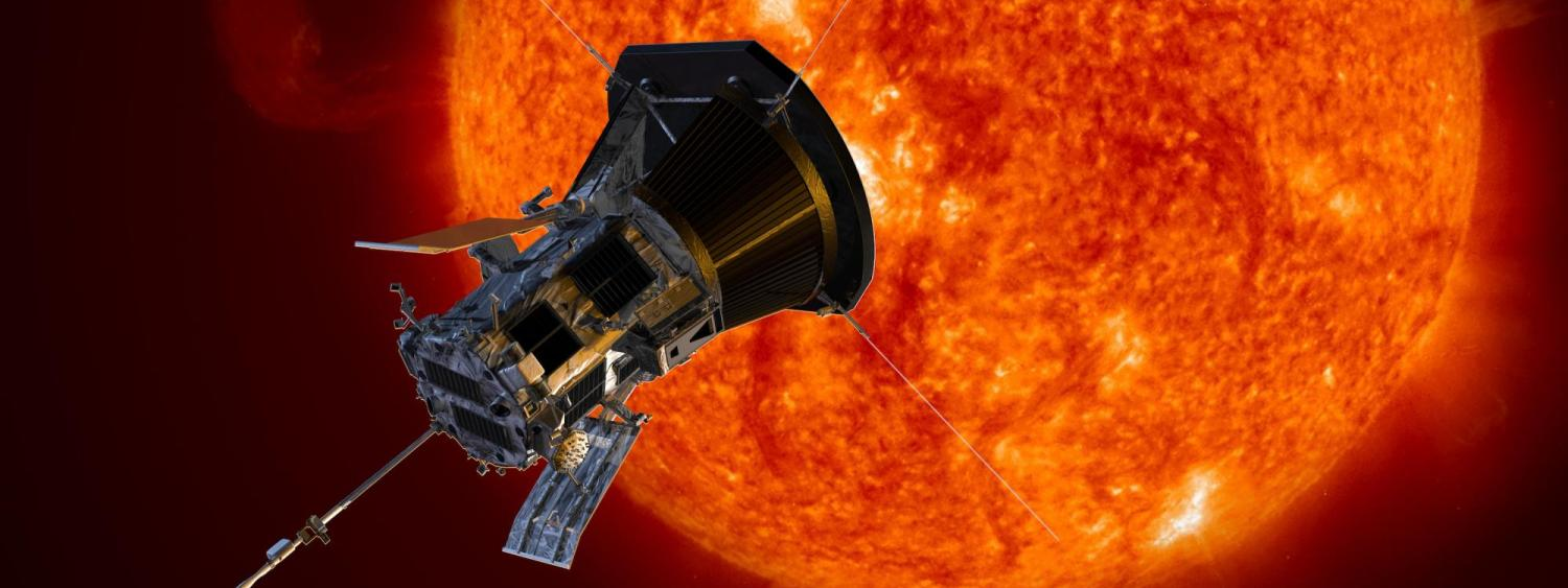 An illustration showing the Parker Solar Probe