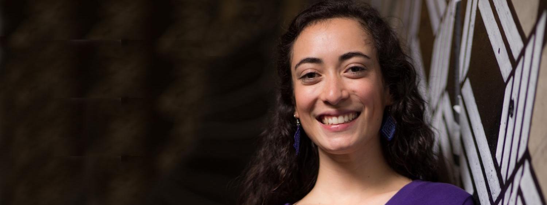 Senior engineering student Susie Gomez-Burgos