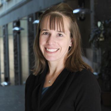 Interim Dean of Students Andrea Zelinko