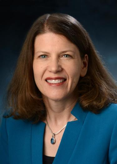 Executive Vice Provost for Academic Resource Management Ann Schmiesing