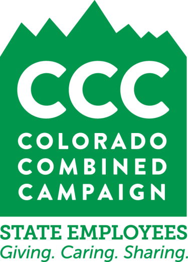 Colorado Combined Campaign written over a background of green mountains
