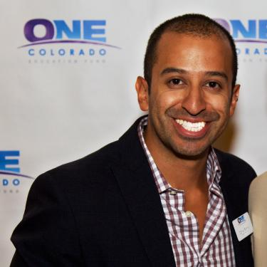 Daniel Ramos, alumnus and executive director of One Colorado