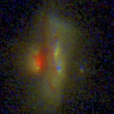 Merging galaxy