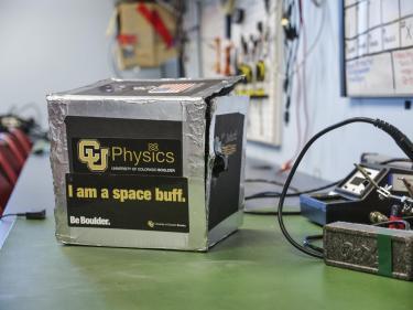 I am a space buff and CU Physics.