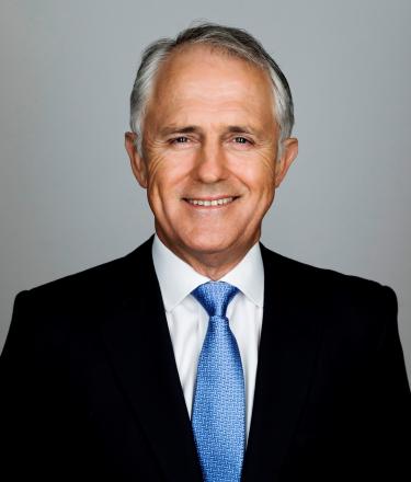 Former Australian Chancellor Malcolm Turnbull