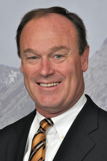 CU Boulder Athletics Director Rick George