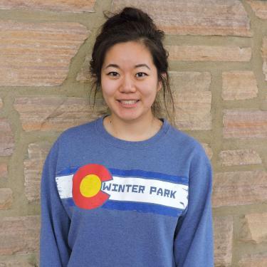 Peer Mentor Valerie Gao