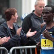 Eliud Kipchoge running