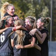 CU Buffs soccer team celebrates after victory
