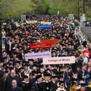 Commencement procession