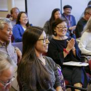 An audience at the Diversity and Inclusion Summit