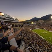 Colorado football at Folsom Field