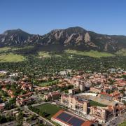 CU Boulder Campus Scenic