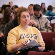 Student listens in on Diversity and Inclusion Summit session