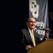 Chancellor Phil DiStefano gives his 10th State of the Campus address