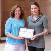Open Educator Award winner Leah Wasser