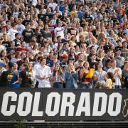 Colorado students at CU Kickoff