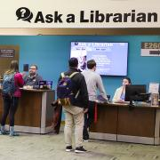 Ask A Librarian desk