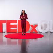 An image from a TEDxCU event