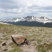 An alpine landscape in Colorado.