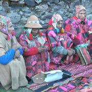 Q'ero tribe members in Peru