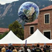 An image from a past Earth Day event at CU Boulder