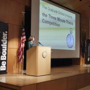 The 2018 Three Minute Thesis competition finals