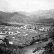 A historic image of Steamboat Springs
