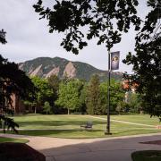 Flatirons on campus