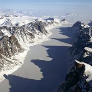 Baffin Island glaciers