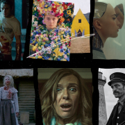 A collage of A24 movies
