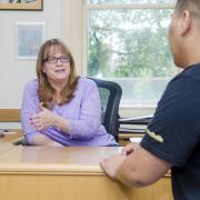 A CU Boulder academic advisor