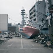 Image of damage following the Great Tohoku Earthquake and tsunami in 2011