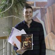 Librarian Alex Watkins