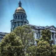 Colorado capitol building (Photo by Andrew Coop on Unsplash)