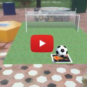 AR soccer ball